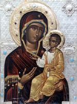 Одна из святынь Афона— Иверская икона Божией Матери (фото с сайта days.ru)